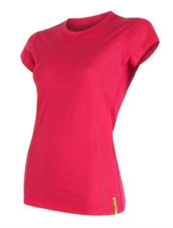 triko merino wool active magenta XL