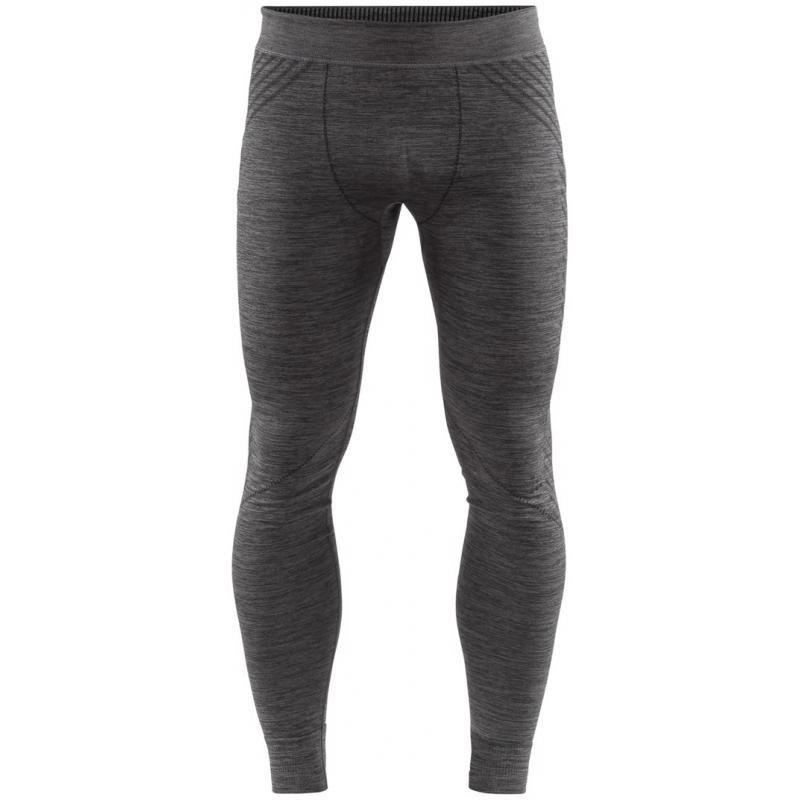 spodky fuseknit comfort pants black melang XL