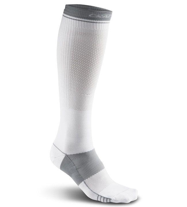 compress body control sock white 43-46