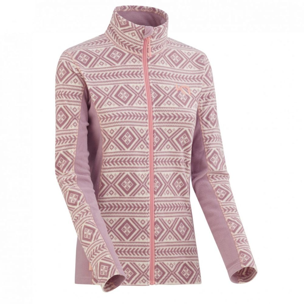 mikina lus fleece zip petal XS