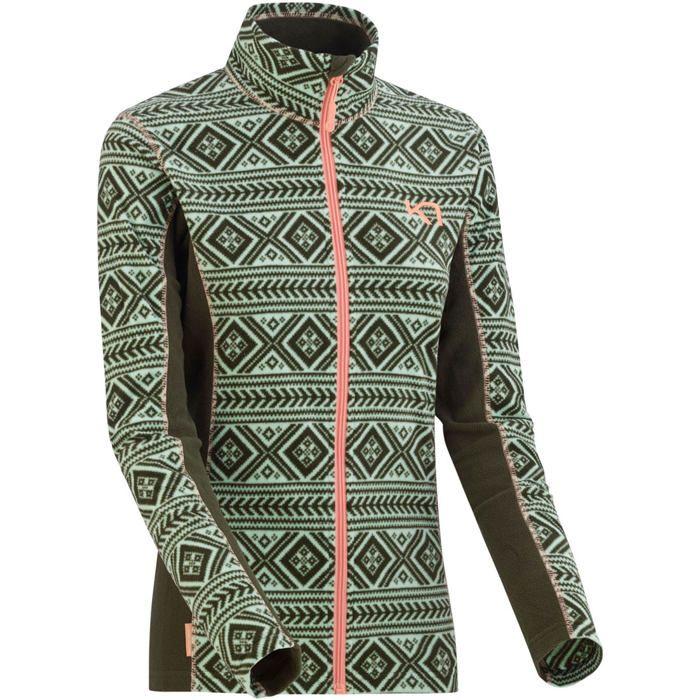 mikina lus fleece zip woods S