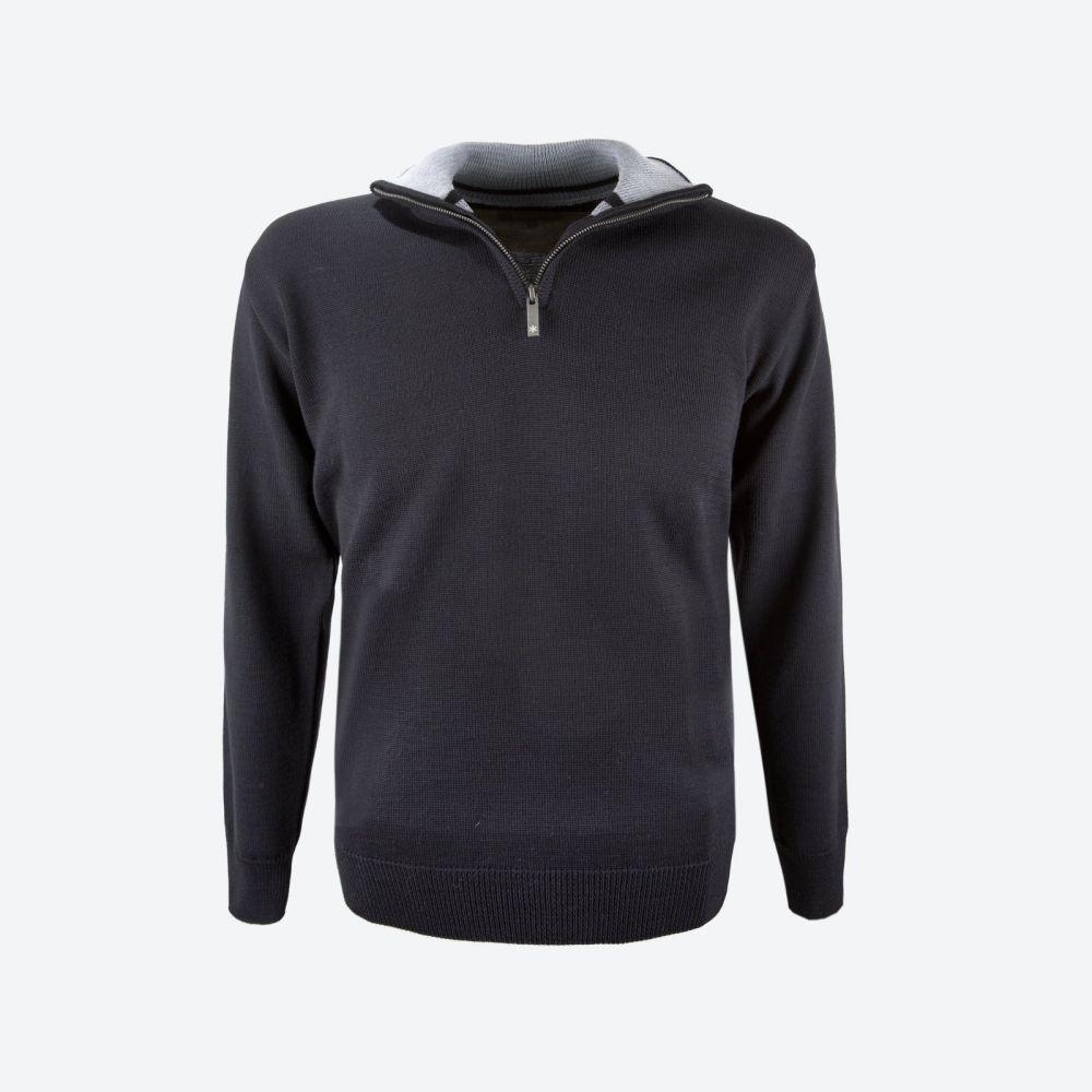 pánský svetr 4105 110 black XXL