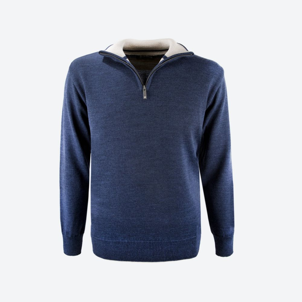 pánský svetr 4105 110 navy M