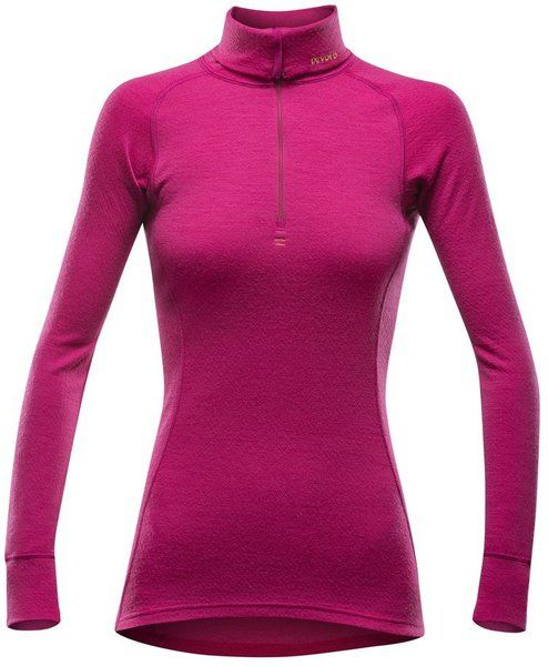 triko duo active zip neck cerise XL