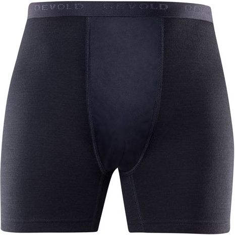 duo active man boxer w/windstopper black M
