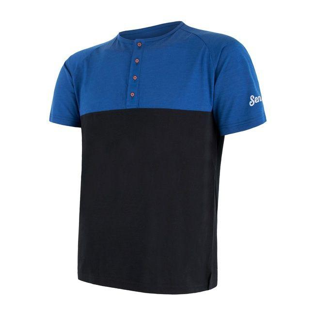 triko merino air pt blue/black L