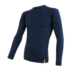 triko double face merino wool deep blue M
